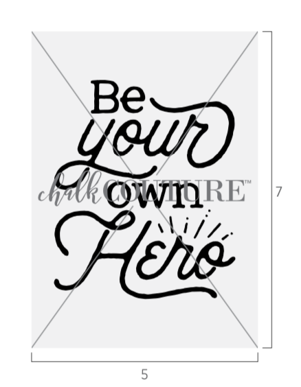 Be Your Own Hero transfer