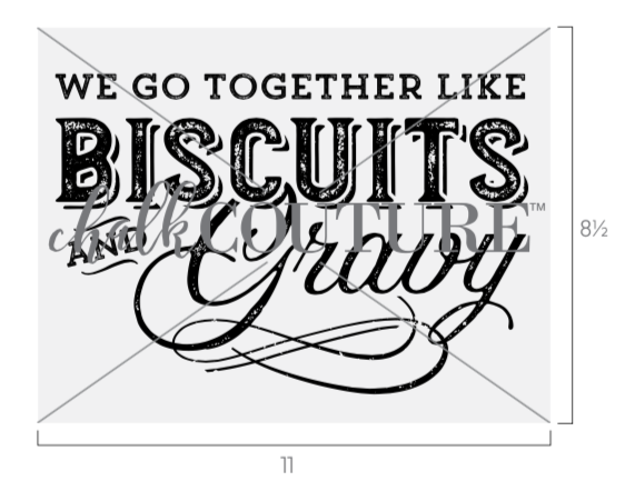 Biscuits and Gravy transfer