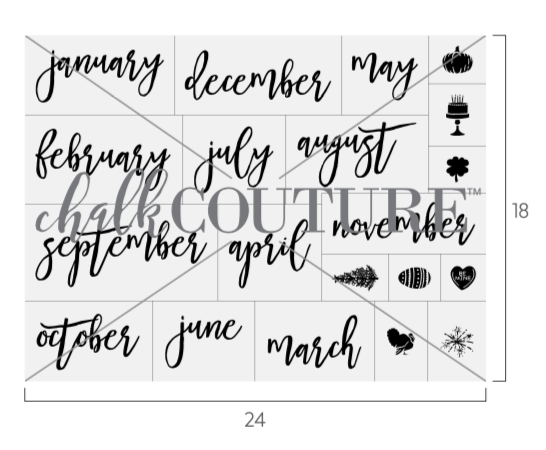 Calendar Months transfer