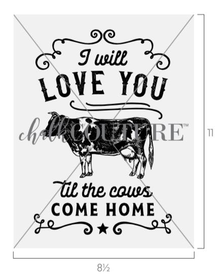 Cows Come Home Transfer
