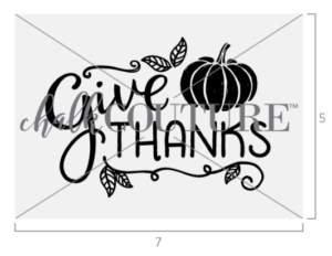Give Thanks Pumpkin transfer