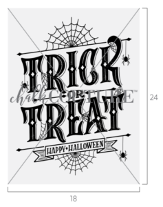 Gothic Trick or Treat transfer