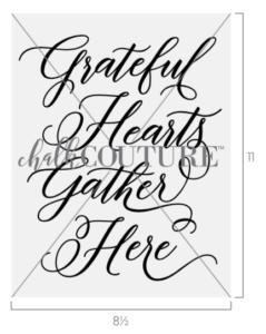 Grateful Hearts Gather Transfer