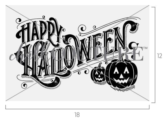 Happy Halloween transfer