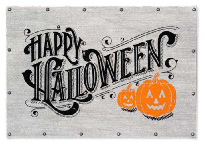 Happy Halloween sample product