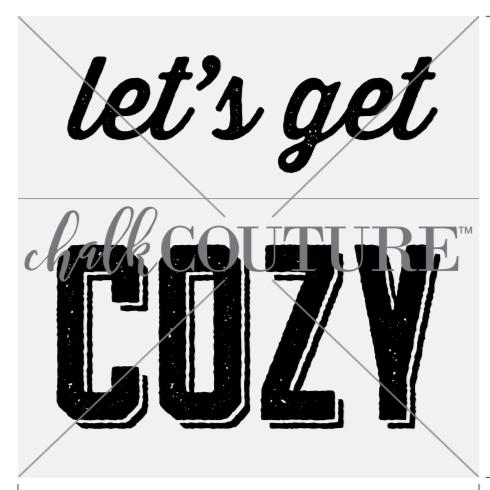 Let's Get Cozy transfer
