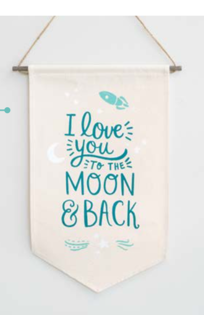Love You To The Moon Sample Product