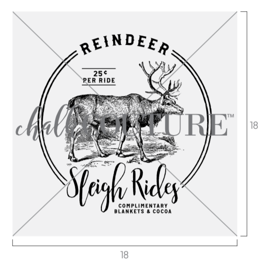 Reindeer Sleigh Rides transfer