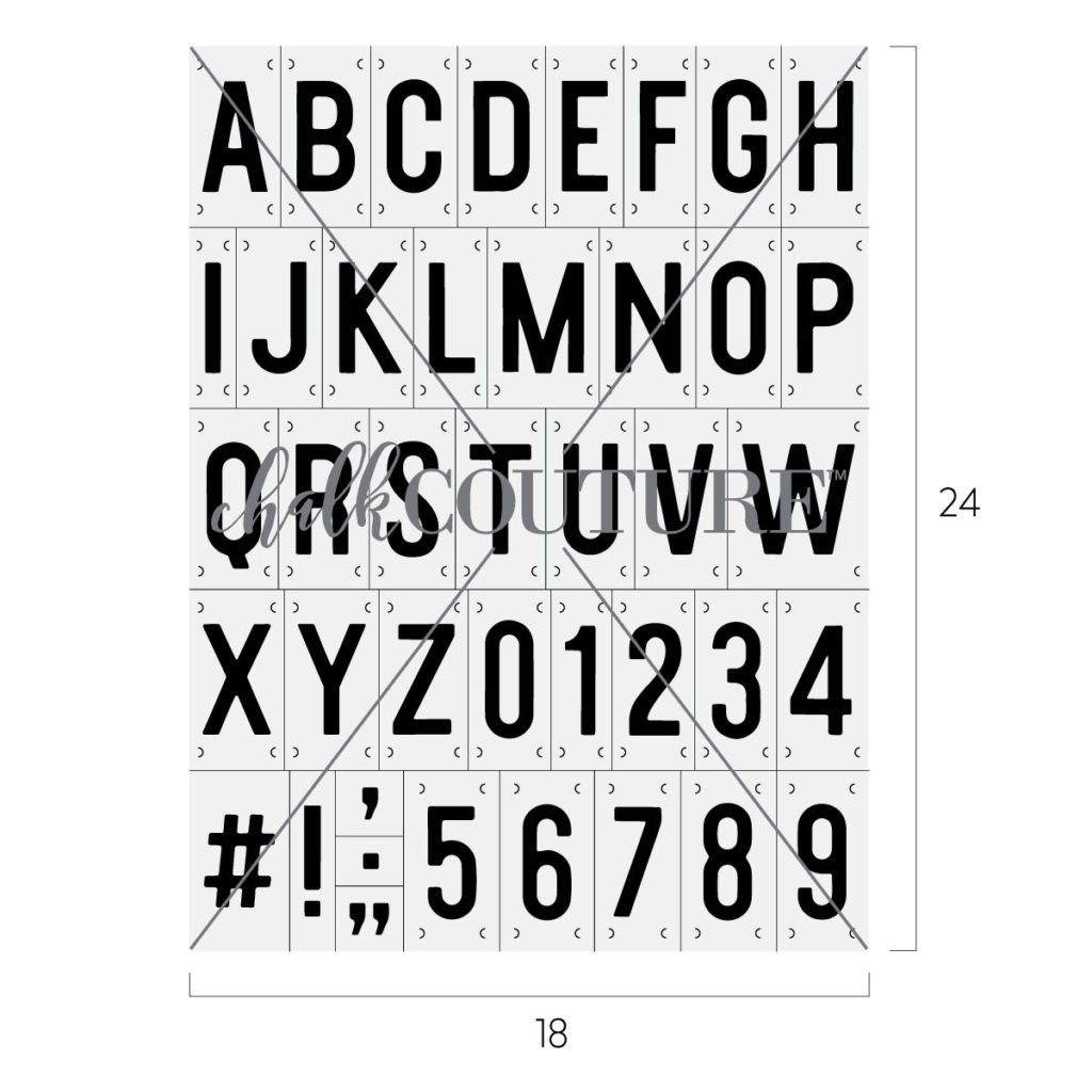 Sans Serif Font transfer