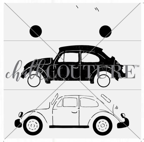 Vintage Bug transfer