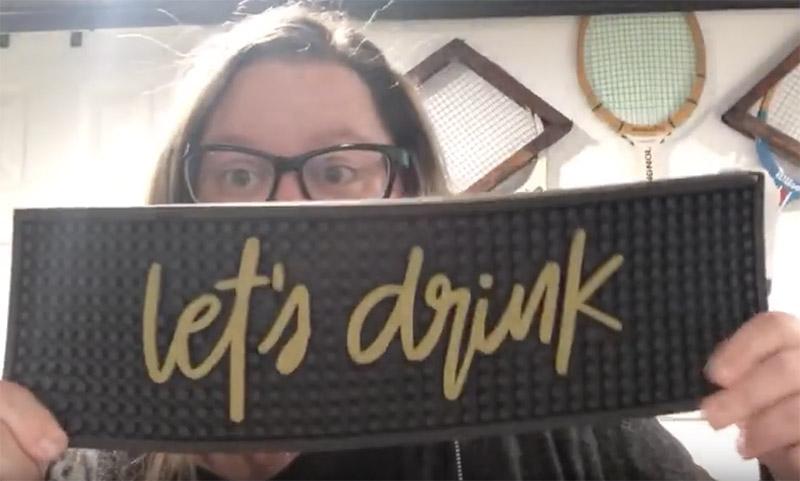 Target Haul Drink Mat