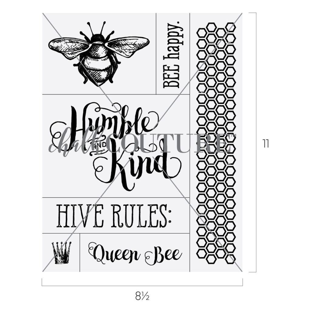 Bee Humble and Kind transfer