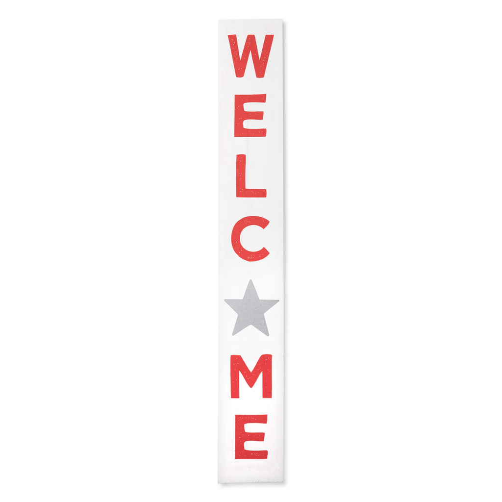 Welcome Signpost Add On Chalk Transfer Sample Project