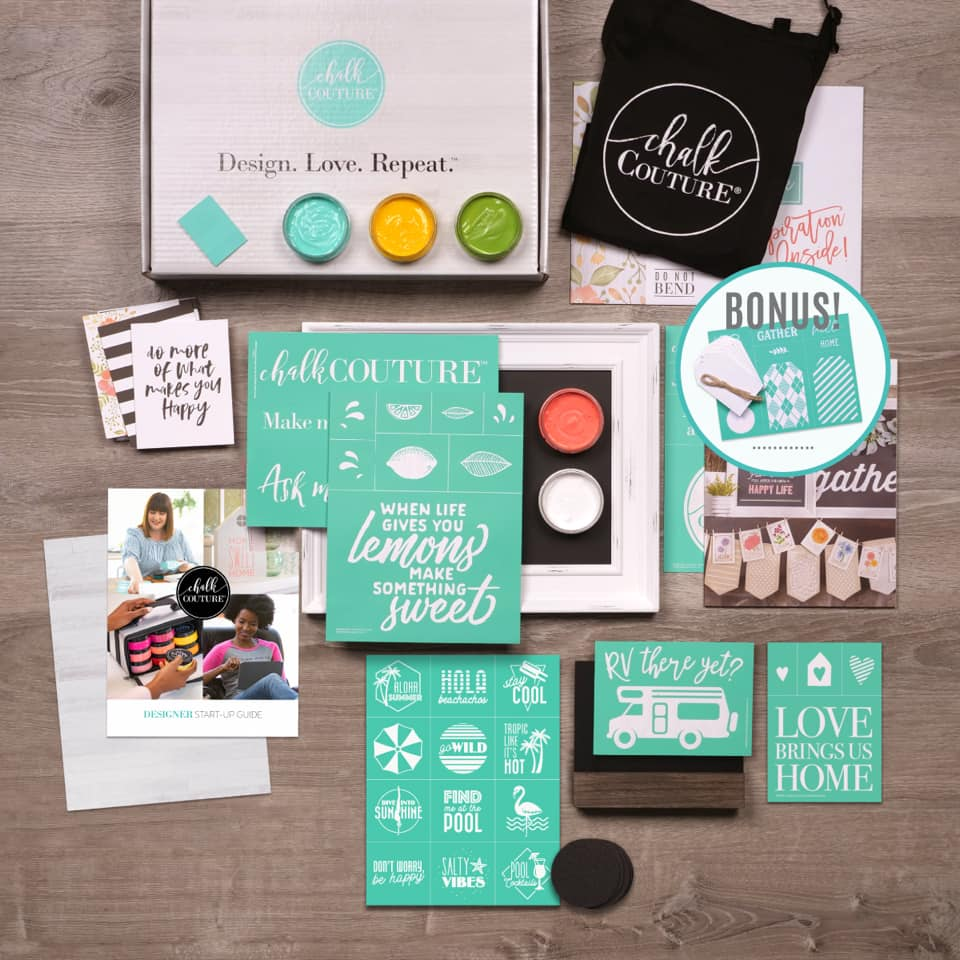 Spring/Summer 2020 New Chalk Couture Designer Kit is Fabulous