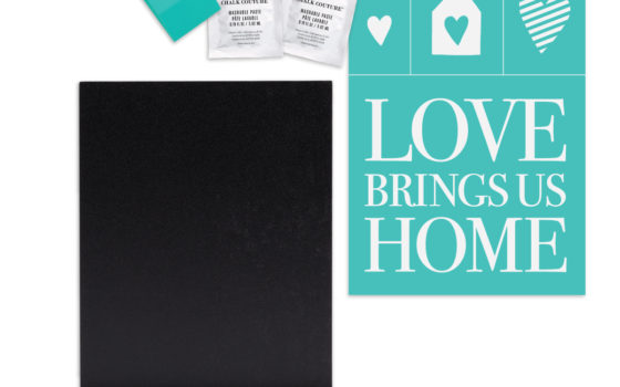 Love Brings Us Home Chalk Couture Try-Me Kit