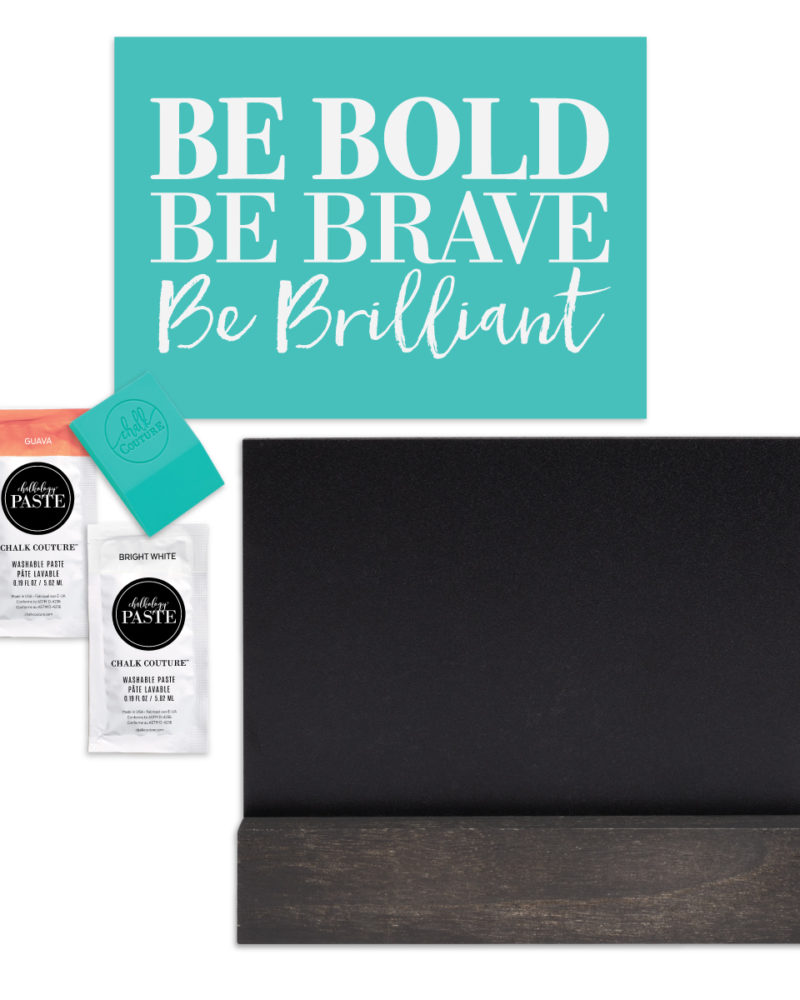 Be Bold Chalk Couture Try-Me Kit