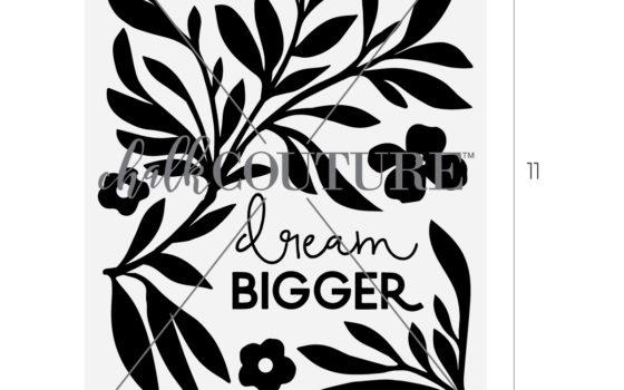 dream bigger chalk transfer