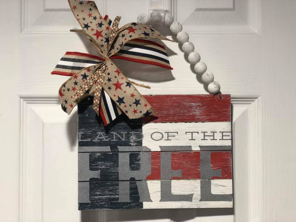 Porch Decor Series Part III: Home of the Brave transfer