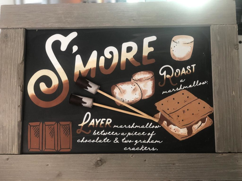 Love You S'more Chalkboard