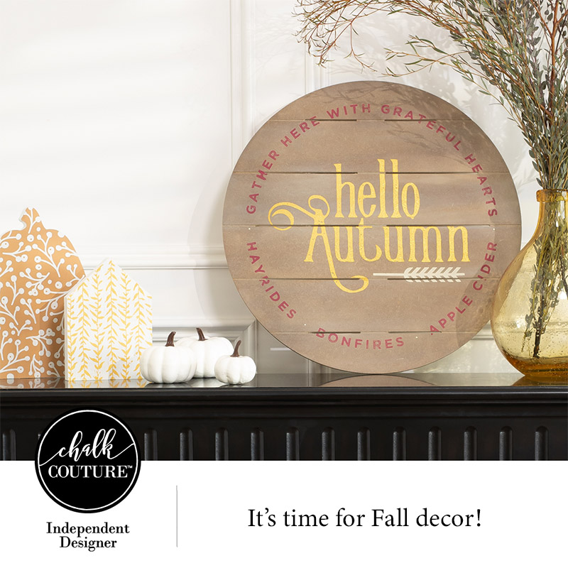 Time for Fall Decor Creation