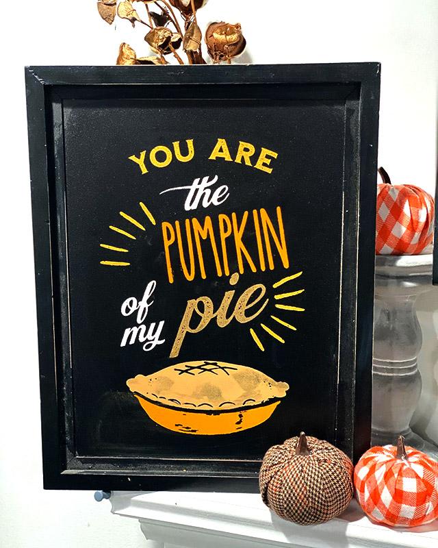 Apple of my Pie or is it Pumpkin?