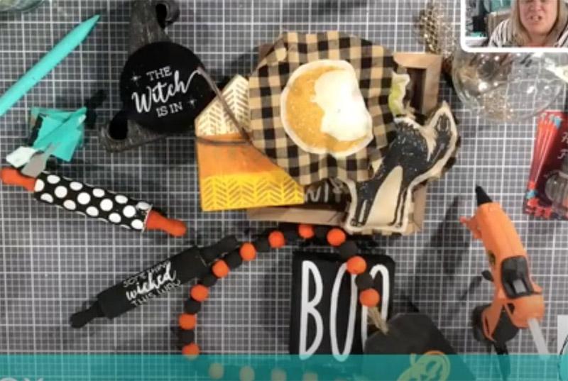 Halloween decor – Halloween tiered tray Part 1!