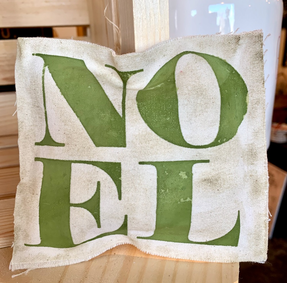 Christmas Sentiments Part III: Noel Kawaii Style Pillow