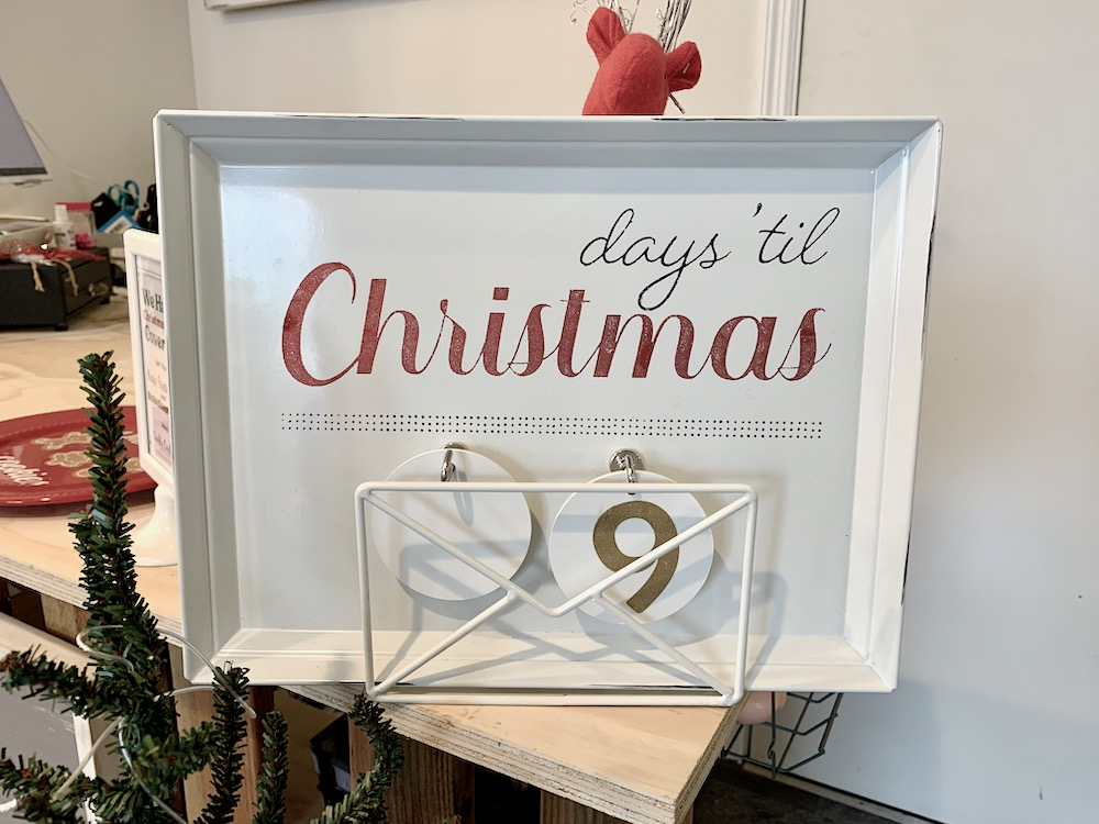 Count Down the Days Til Christmas With Me