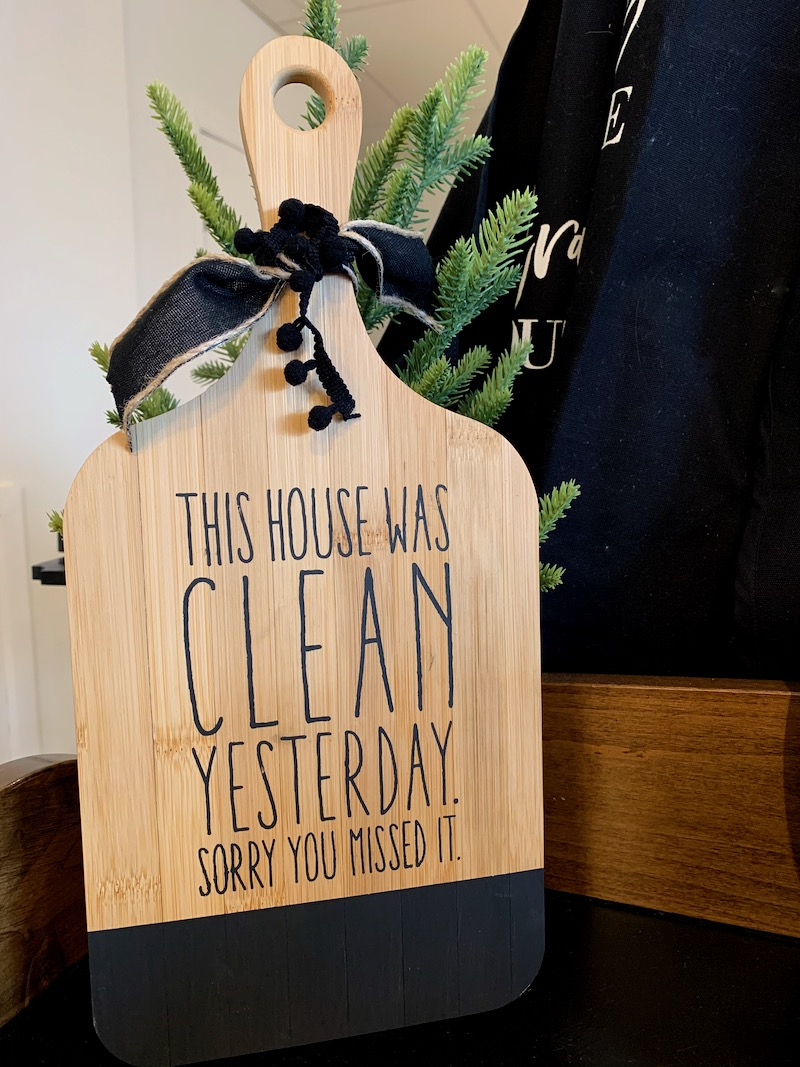 This House Was Clean…But Was It Ever?