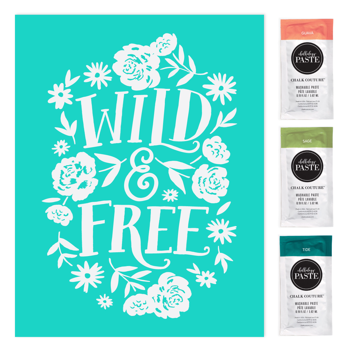 Tip Tuesday on a Wednesday: How to Be Wild and Free with Chalk Couture's Club Couture.