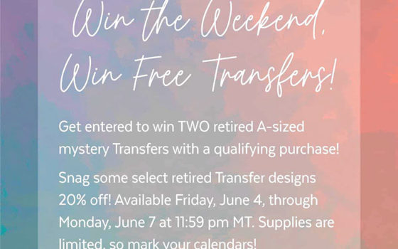 Chalk Couture Win the Weekend Sale