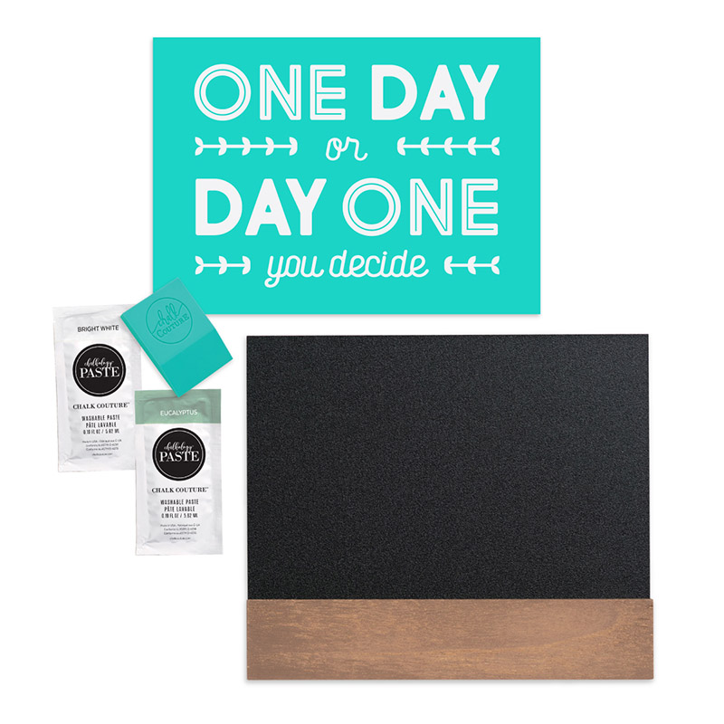 Need Easy DIY Home Decor? Get a Chalk Couture Try Me Kit!