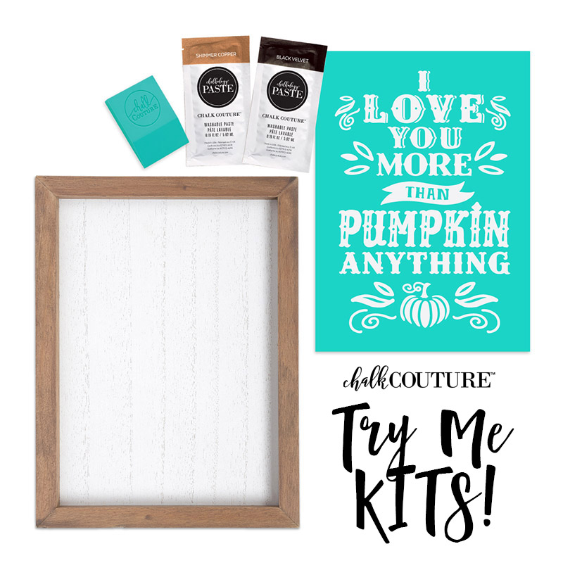 Chalk Couture Kits Are All in One Crafting Fun