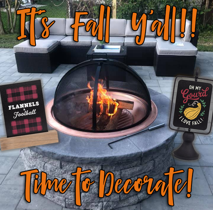 Fall is Almost Here. Time to Decorate!